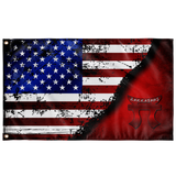 "Rakkasans Stars & Stripes Flag Elite Flags Wall Flag - 36""x60"""