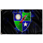 "Ranger Regiment Electric Crest Flag Elite Flags Wall Flag - 36""x60"""
