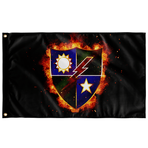 "Ranger Regiment Fire Crest Flag Elite Flags Wall Flag - 36""x60"""