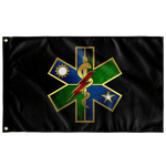 "Ranger Regiment Medical Black Flag Elite Flags Wall Flag - 36""x60"""