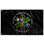 "Ranger Regiment Trauma Management Team Black Flag Elite Flags Wall Flag - 36""x60"""