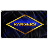 "Rangers Diamond Flag Elite Flags Wall Flag - 36""x60"""