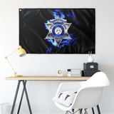 "Retired Fort Wayne Police Flag #2 Elite Flags Wall Flag - 36""x60"""