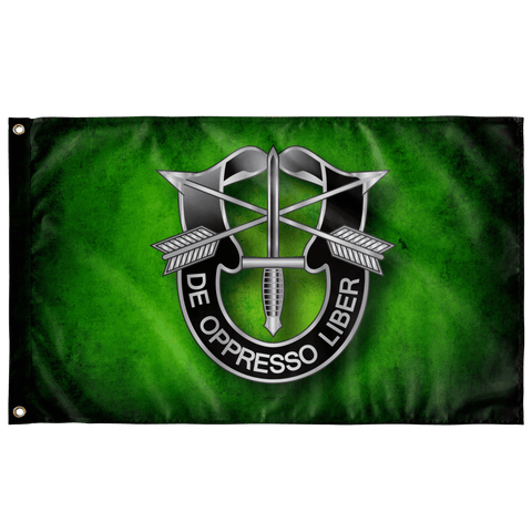 "Special Forces DUI Bold Outdoor Flag Elite Flags Wall Flag - 36""x60"""
