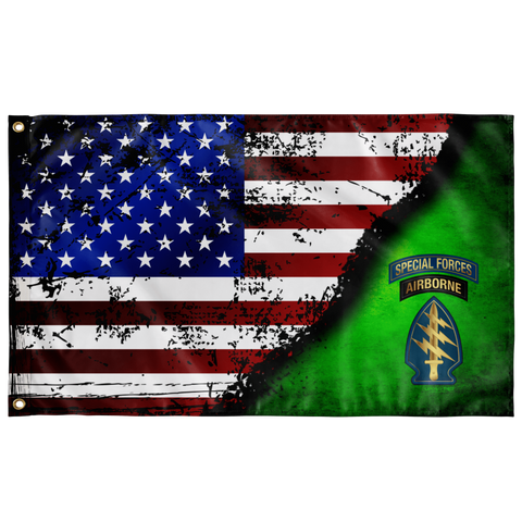 "Special Forces Stars & Stripes Flag Elite Flags Wall Flag - 36""x60"""