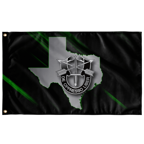 "Special Forces Texas State Flag Elite Flags Wall Flag - 36""x60"""