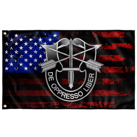 "Special Forces US Flag Elite Flags Wall Flag - 36""x60"""