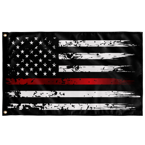 "Thin Red Line Flag Elite Flags Wall Flag - 36""x60"""