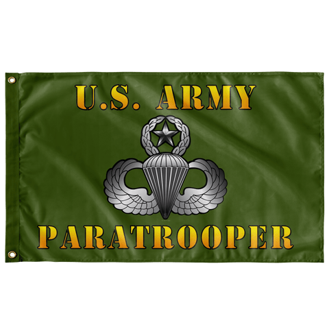 "US Army Paratrooper Outdoor Flag Elite Flags Double-sided 36"" X 60"""