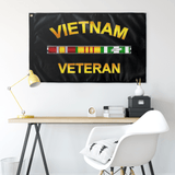 "Vietnam Veteran Flag Elite Flags Wall Flag - 36""x60"""