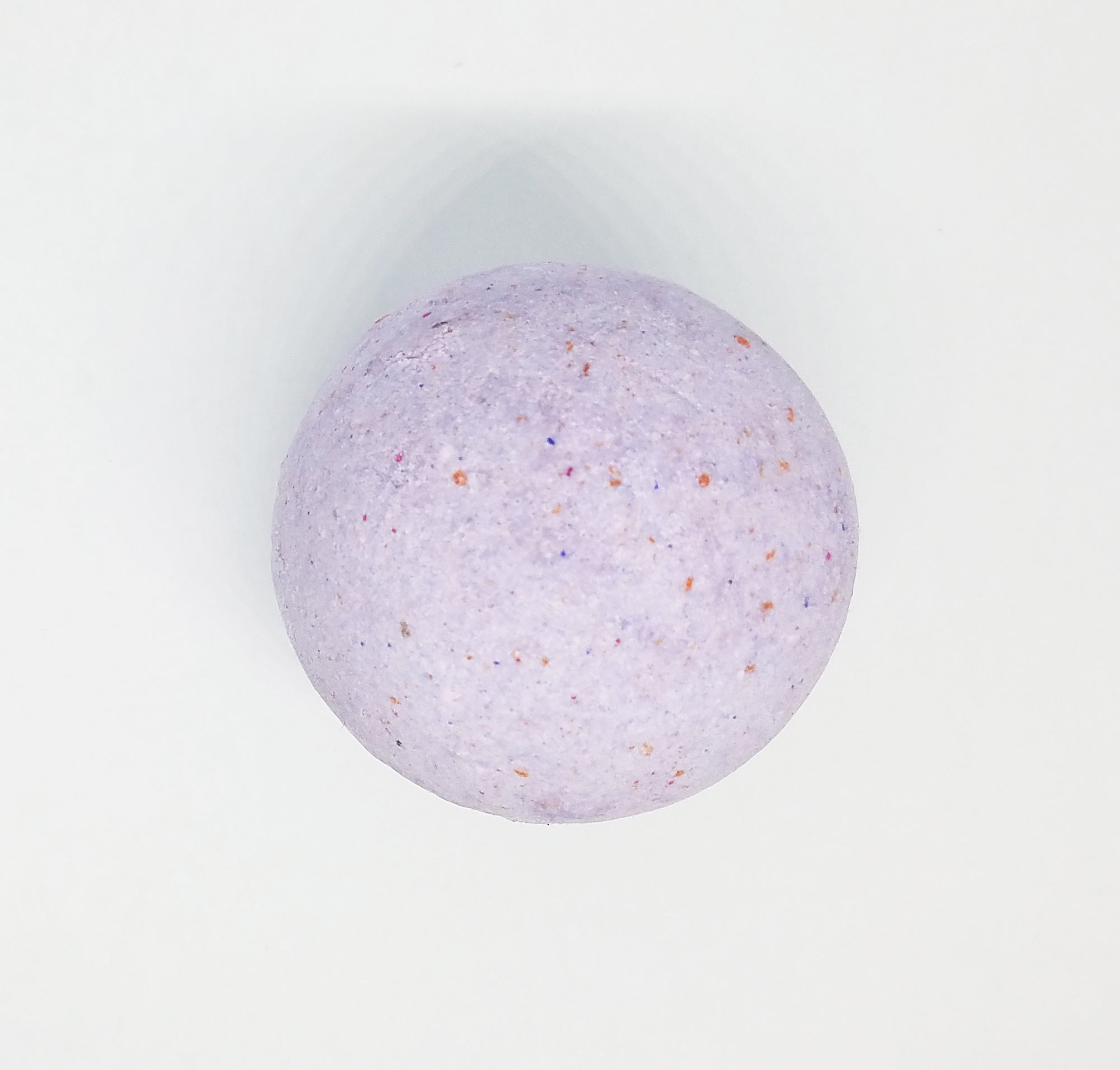 Strawberry Cream Bath Bomb (with Rose Quartz inside)