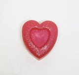 Strawberry Cream Heart Soap