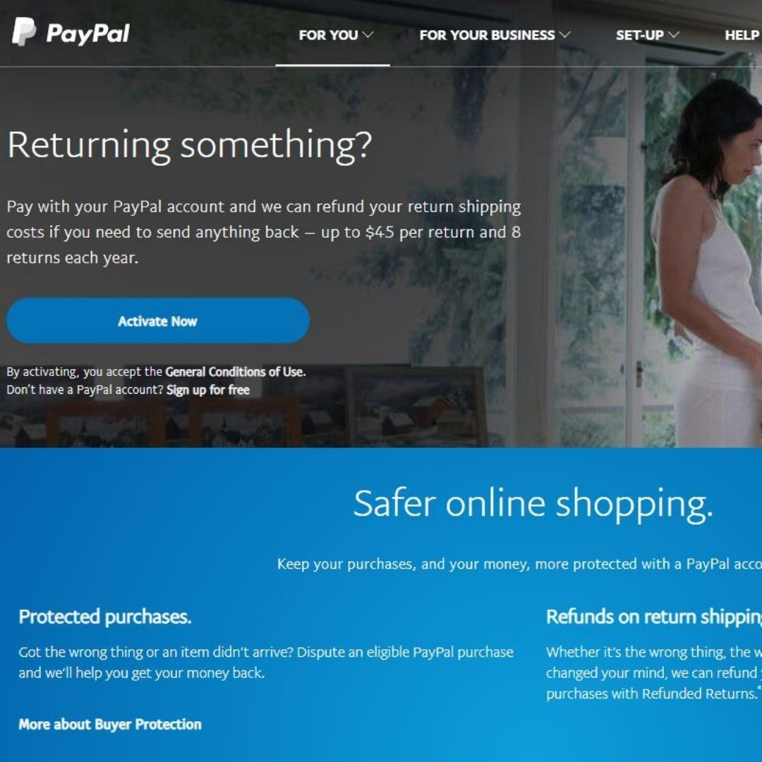 PayPal Pays Return Shipping to Ride Proud Customers