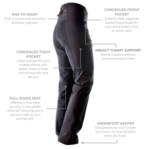 Ride Proud's Equitation Style Horse Riding Pants