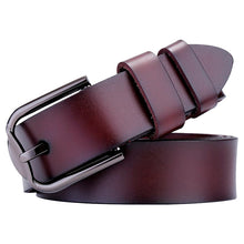Load image into Gallery viewer, Flat Leather Belt - Ride Proud Clothing