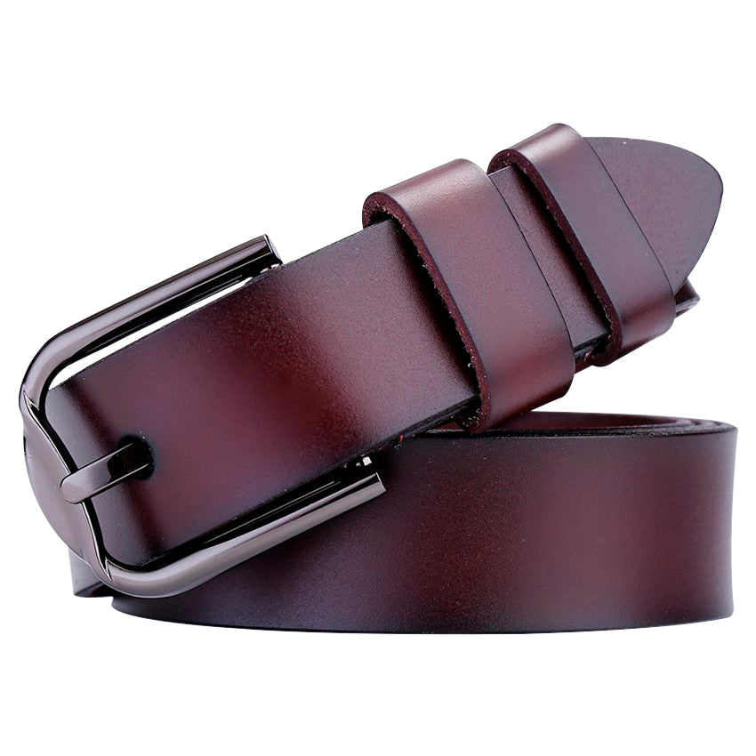 Flat Leather Belt - Ride Proud Clothing