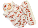 gugagii Custom Baby Blankets Custom Personalized Baby Blanket  with Name