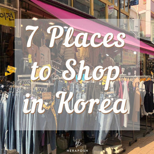 7 Places to Shop in Korea