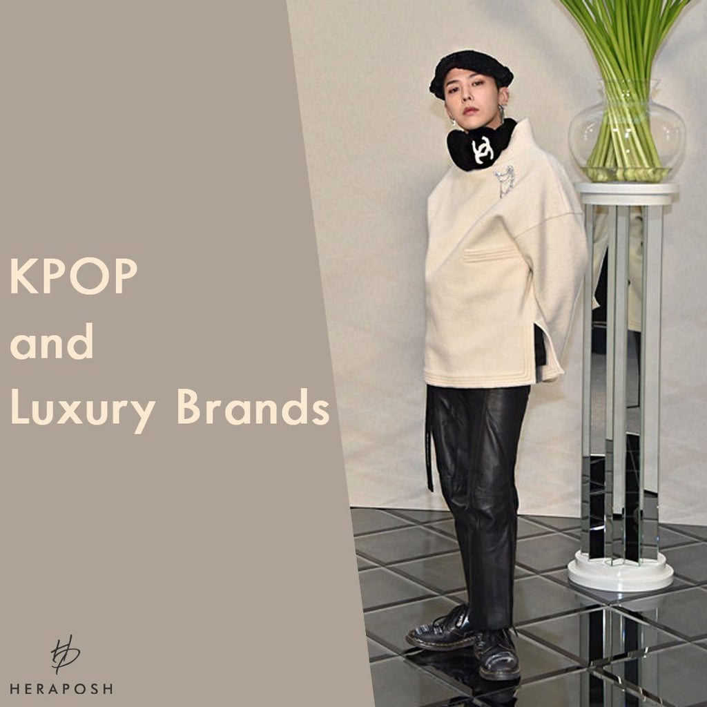 KPOP and Luxury Brands