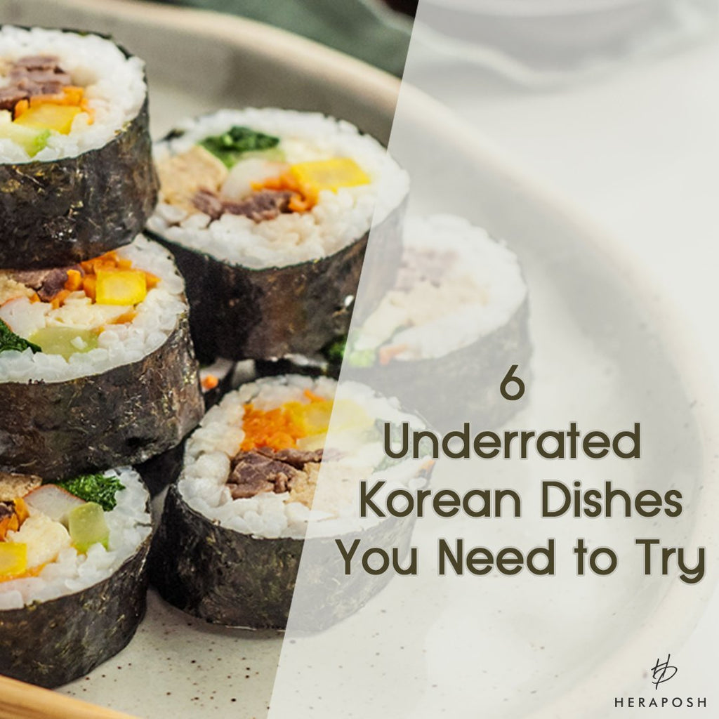 6 Underrated Korean Dishes You Need to Try