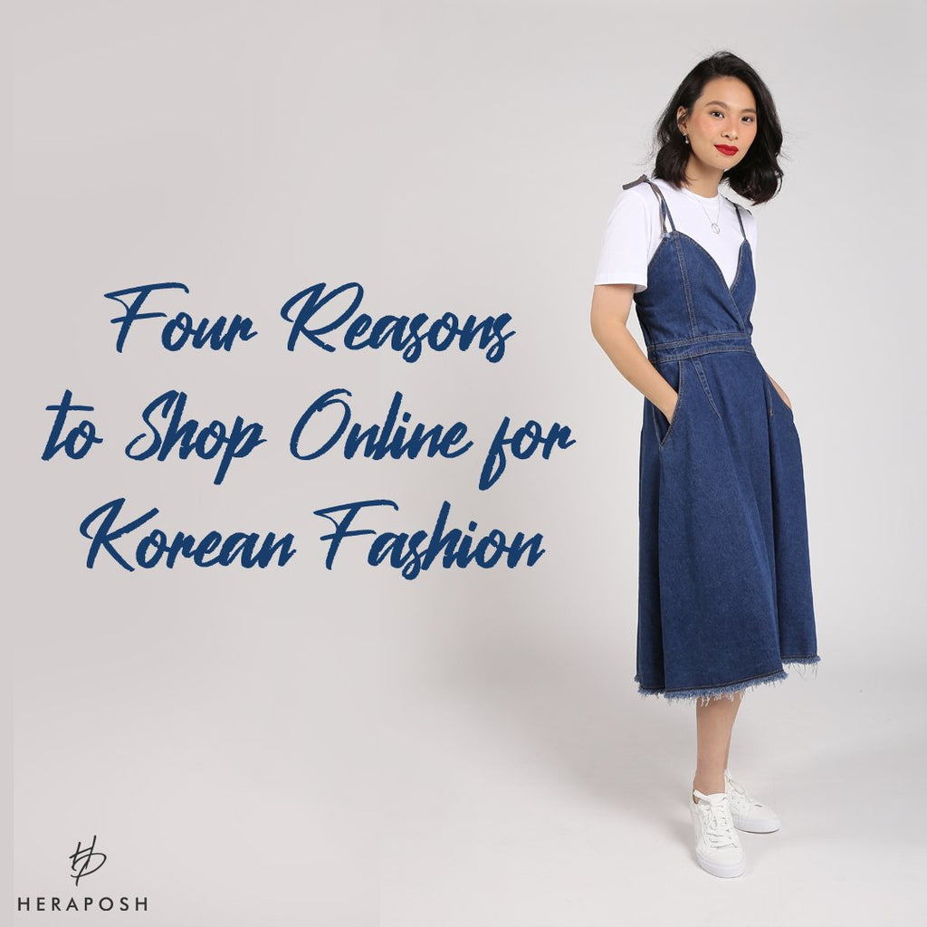 Four Reasons to Shop Online for Korean Fashion