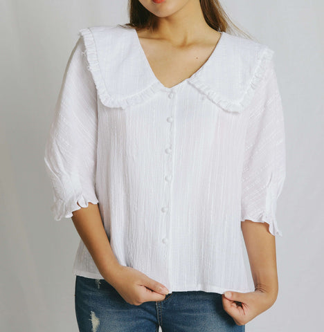 Lucy Flat Collar Blouse
