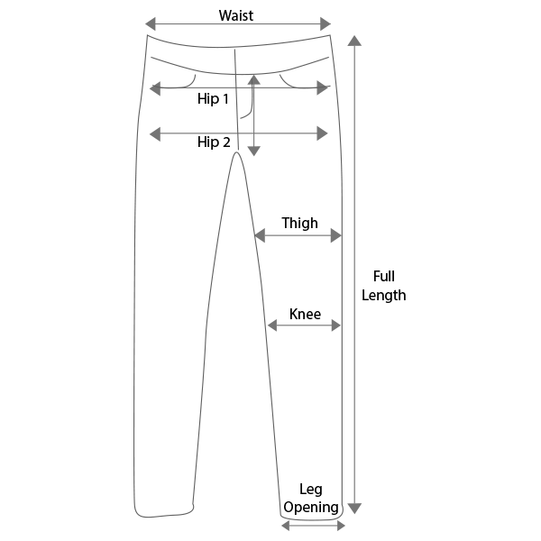Basic Pants Guidelines