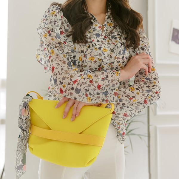 Heraposh  Bags Yellow Blake Envelope Sling Bag HP-BA000008