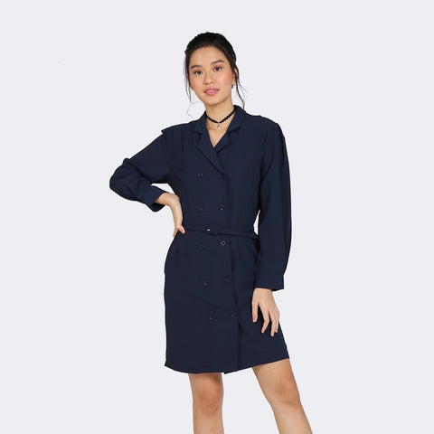 Heraposh Dress Bora Coat Dress with Belt