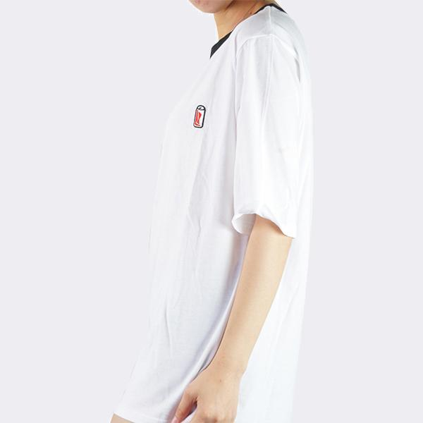 Heraposh  Tops Free Size / White Cola Round Neck Shirt HP-T000065