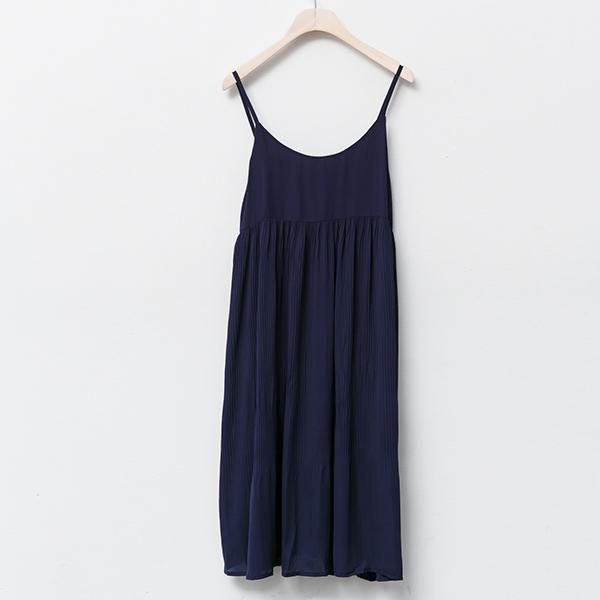 Heraposh  Dress Free Size / Navy Blue Danica Casual Dress HP-D000016