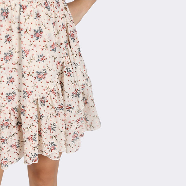 Heraposh Dress Dasom Floral Wrap Dress