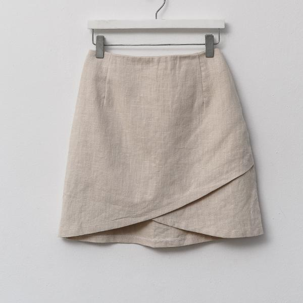 Heraposh  Bottoms Free Size / Cream Denise X Skirt HP-B000012