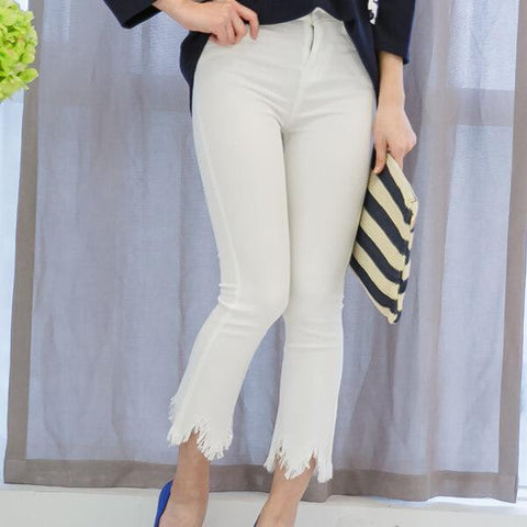 Heraposh Bottoms Ivory Flared Corduroy HP-B000031