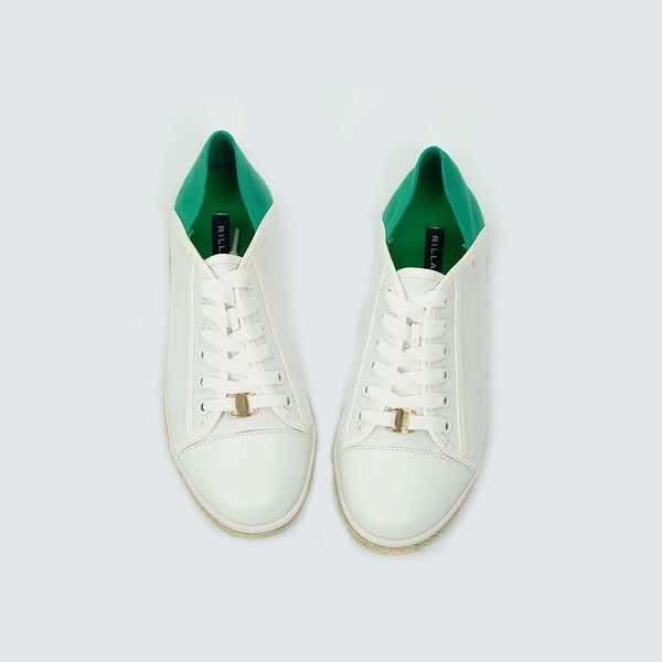 Heraposh  Flats US size: 6 / Green Jennie Style Sneakers HP-S000029