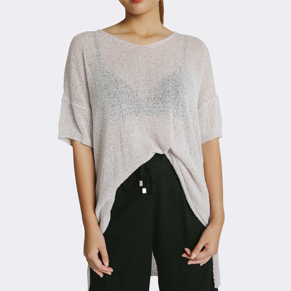 Heraposh  Tops Jessi Knitted Loose Top HP-T000142