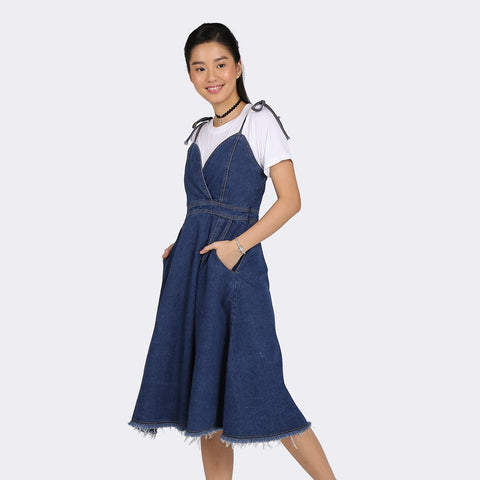 Heraposh  Dresses Jooe Denim Dress