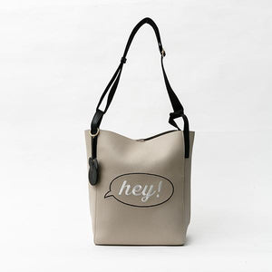 Heraposh  Bags Beige Kira Printed Leather Tote HP-BA000005