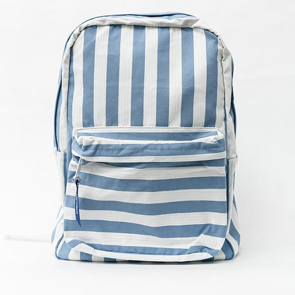 Heraposh  Bags Sky Blue Leftfield Striped Backpack HP-BA000014