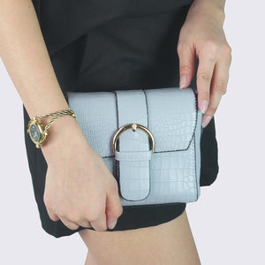 Heraposh  Bags Grey Lucia Mini Sling Bag HP-BA000043