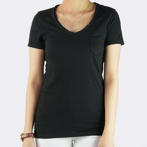 Macy V-Neck with Pocket Shirt