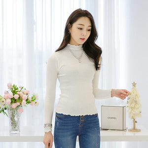 Heraposh  Tops Michelle Plain Long Sleeves HP-T000050