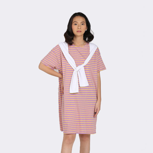 Heraposh  Dresses Free Size / Pink Momo Scarf Dress HP-D000044