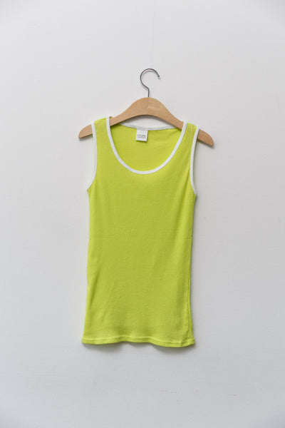 Heraposh  Tops Free Size / Lime Green Nicki Sleeveless Shirt HP-T000087