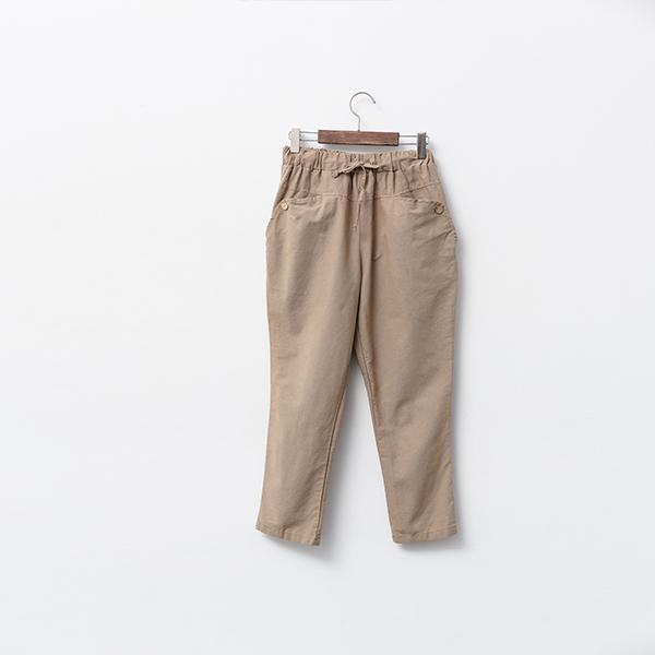 Heraposh  Bottoms Free Size / Brown Penny Pegged Pants HP-B000032