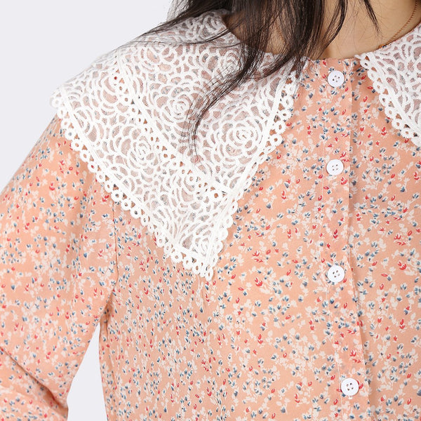 Heraposh  Pre-order Seulgi Floral Blouse and Get 10% OFF! HP-T000158
