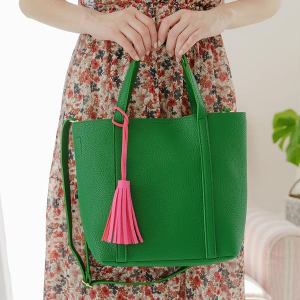 Heraposh  Bags Green Riley Convertible Tote Bag HP-BA000037