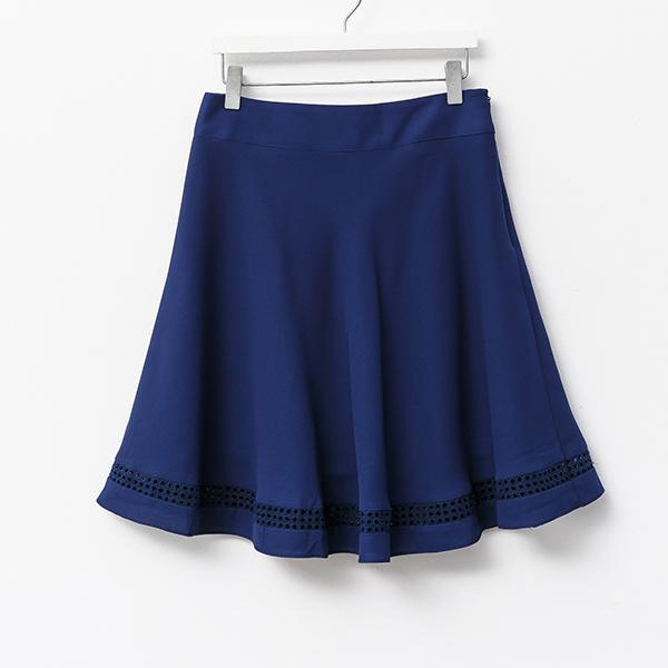 Heraposh  Bottoms Small / Royal Blue Rita A-line Skirt HP-B000021
