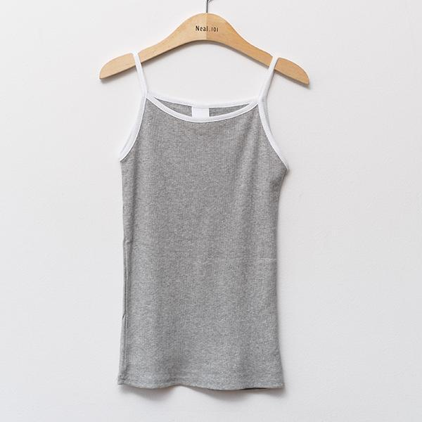 Heraposh  Tops Free Size / Gray Sabrina Sleeveless Shirt HP-T000088