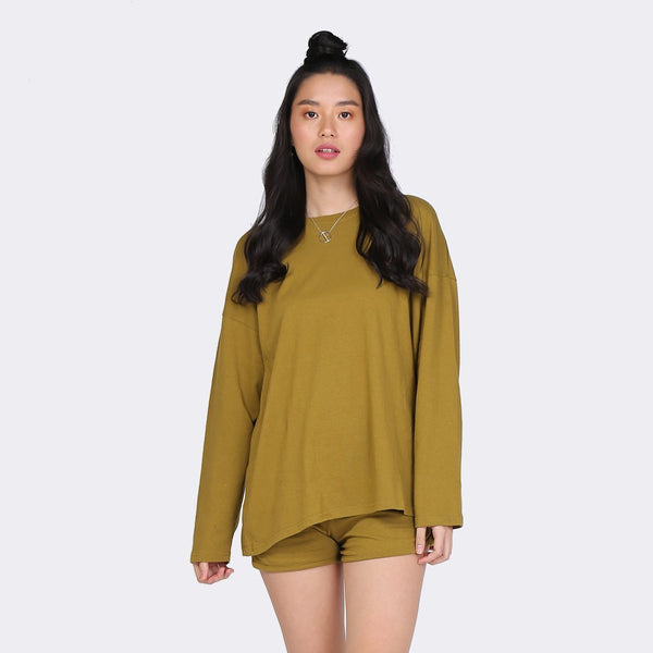 Heraposh  Sets Free Size / Moss Green Sana Casual Set HP-T000144